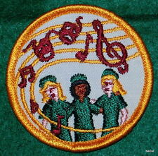 VINTAGE GIRL SCOUT  - FIRST NON-EARNED NATIONAL ISSUE PATCH - NEW - NOS