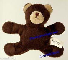 Magnet aimant figurine OURS brun en peluche marron SUD CARGO frigo bear figure