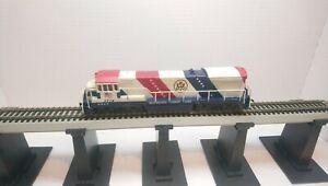 Bachmann HO Train SCL Bicentennial 76 GE U-36-B Dummy Diesel Locomotive
