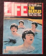 1984 LIFE Magazine Feb. FVF The Beatles - John Lennon - Paul McCartney