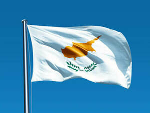 Cyprus Flag 5 x 3 FT - 100% Polyester With Eyelets - Cypriot
