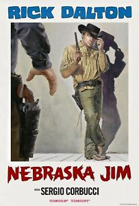 ONCE UPON A TIME IN HOLLYWOOD RICK DALTON NEBRASKA JIM DI CAPRIO MOVIE POSTER