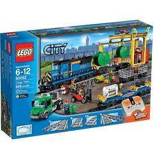 Lego City Town 60052 CARGO TRAIN Forklift Draiver Farmer wagon Locomotive NISB