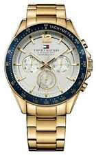 Tommy Hilfiger Mens Luke Gold Tone 1791121 Watch - 17% OFF!