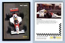 Senna #147 Formula 1 Pro Trac's 1991 Premier Racing Card