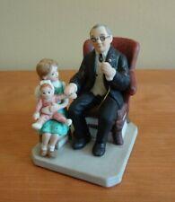 "Vtg ""Little Patient"" Porcelain Figurine by Norman Rockwell 1985"