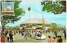 General Electric Pavilion and Escorter New York World's Fair 1964 Postcard