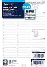 Filofax 19–68514 A5 Semaine sur 2 pages 5 Langues 2019 Agenda