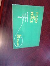 1946 New Zealand Pamphlet Promoting Peace Post WW2