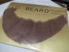 Beard Human Hair Full Beard Light Brown Lace Back Professional Theatrical 2024