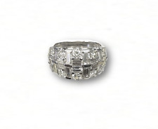 Diamond and Baguette Ring 2.50 Caret T.W.