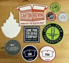 Lot 8 Beer Brewery Stickers 4 Magnets Playing Cards Microbrew Carton Portland ME
