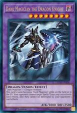 *** DARK MAGICIAN THE DRAGON KNIGHT *** ULTRA RARE LEDD-ENA00 MINT/NM YUGIOH!