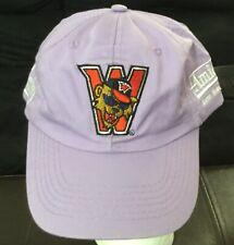 Washington Wild Things Minor League BASEBALL Purple Hat Pittsburgh Pirates RARE!