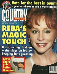 Country Weekly Magazine March 24 1998 Reba McEntire Eddy Raven Jo Dee Messina