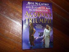 Acorna's Triumph Elizabeth Ann Scarborough, Anne McCaffrey Signed 1st
