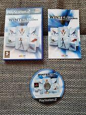 RTL Winter Games 2007 für Playstation 2 PS2, vollständig