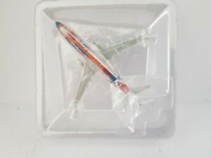 "HERPA QANTAS BOEING 737-800 1/400 ""Yananyi Dreaming"" scale model aircraft."