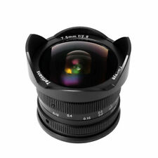 REAL EU SHIP! ✮ 7Artisans 7.5mm f/2.8 FishEye manual lens for APS-C SONY E-mount