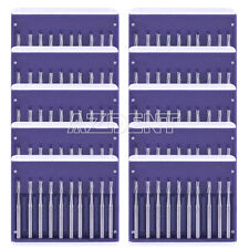 AZDENT 10Box Dental Lab Clinic Burs Round Tungsten Steel Carbide For Handpiece