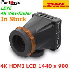 PortKeys LEYE Portable 4K HDMI 2.4″ LCD Screen 1440 x 900 Electronic Viewfinder