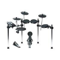 Alesis Forge Kit 8-Piece Drum Set w/ Module Kick Pedal USB/MIDI Output & Sticks