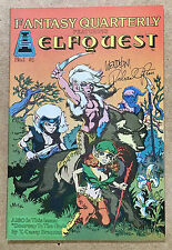 "ELFQUEST ""Fantasy Quarterly"" #1 publisher file copy VF/NM - SCARCE, SIGNED!"