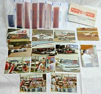 PAUL NEWMAN PHOTOS-RACING-1980 APPLE CAR & OTHERS CANDID PICS PAUL & BOB SHARP