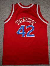 NBA VINTAGE PHILADELPHIA 76ERS #42 JERRY STACKHOUSE JERSEY (YOUTH LARGE)