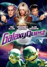 Galaxy Quest Deluxe Edition Dvd Tim Allen Film Mission Space Alan Rickman Weaver