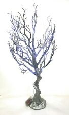 new now with 20 FREE LED lights Silver Faux Manzanita Tree Indoor 75cm weddings