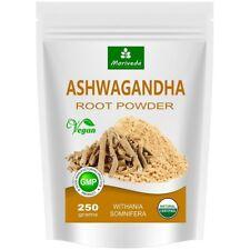 Ashwagandha Pulver 250g, Schlafbeere, Wurzelpulver von MoriVeda, vegan (1x250g)