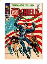 Strange Tales  No.167  : 1968 :  : Classic Flag Cover by Steranko! :