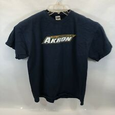 The University Of Akron Men's X-Large Embroidered T-Shirt