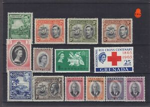 Grenada KGVI & QEII Mounted Mint Collection