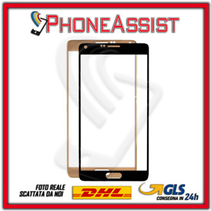 Verre Avant Pour Samsung Galaxy Note 4 N910F Régénération Display LCD Or