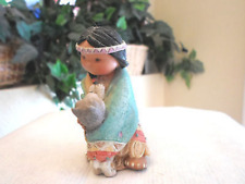 Enesco Friends of the Feather Dances With Wolf Figurine