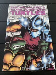 Eastman and Laird's Teenage Mutant Ninja Turtles #10 April 1987