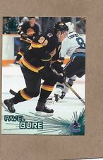 pavel bure vancouver canucks 1997/98 pacific emerald card 96