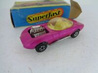 Vintage Matchbox Superfast No.36 Draguar with Defects - boxed