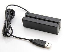 New USB Magnetic Stripe Swiper 3 TK Mini MSR Mag Credit Card Reader