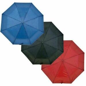 Drizzles Ladies Supermini Manual Umbrella, Navy/Black or Burgundy