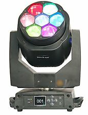 7X15W Osram LED zoom moving head light RGBW 4in1 Bee Eye Moving stage Lighting