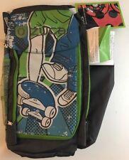 Zuca Sports Bag Skate Hockey Equipment Skateboarding Green Grey Pack