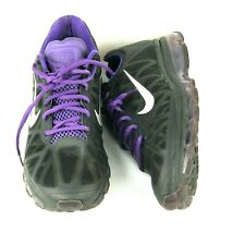 Nike Air Max 2011 Black/Metallic Cool Grey-Purple 429889-005 Men's SZ 11