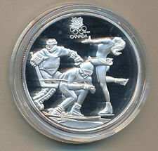 1 oz .999 Silver Olympic Lillehammer 1994 Commemorative #1082