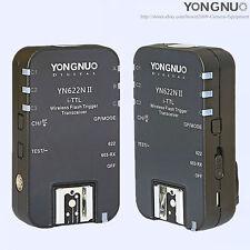 YONGNUO YN-622N II Wireless TTL Flash Trigger For Nikon D7200 D7100 D5300 D5200