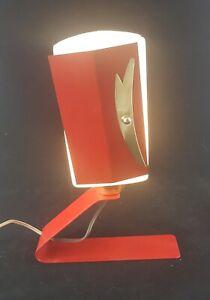 Lamp Office Metal, Lampshade Plastic Of Years 50-60
