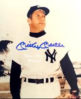 Mickey Mantle New York Yankees MLB Autographed 8x10 Photo wCOA (BB-206)