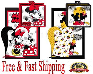 Disney 3pc Kitchen Towel Set (Oven Mitt, Dish Towel, Pot Holder) Original